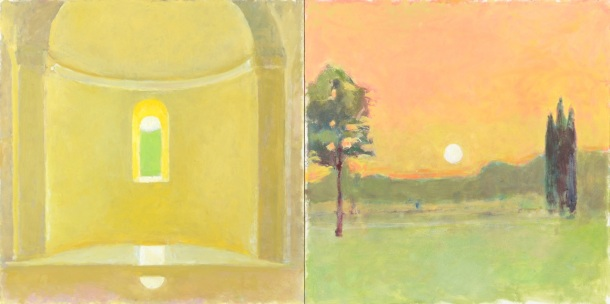 21 East and West at Conil, 12 x 24