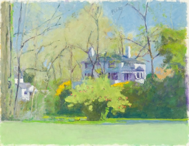 """37 The Poet's House, 2013, oil on board, 14 x 18"""""""