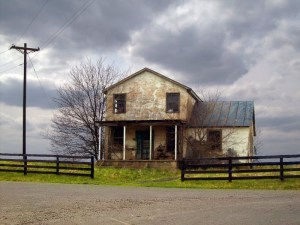 Abandoned Farm House, Culpeper County, VA.